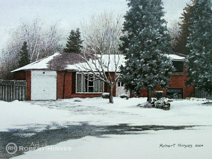 Robert Hinves - Rustic Ontario Landscapes