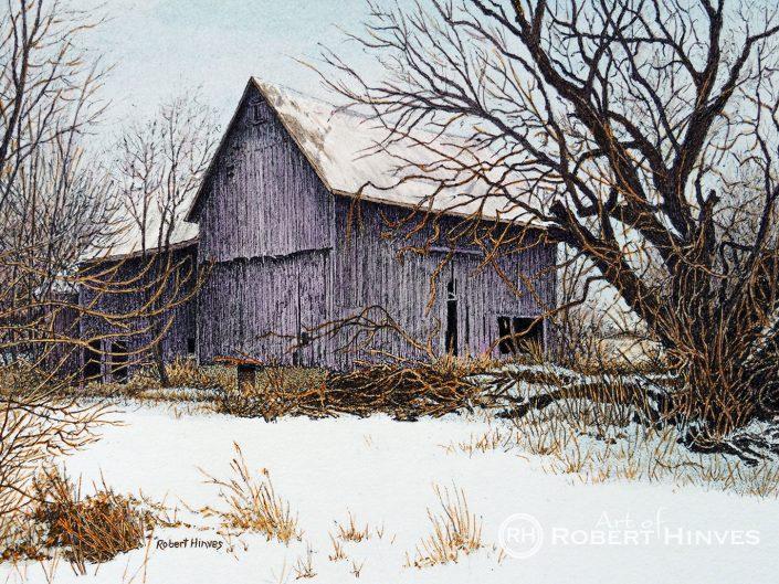 Robert Hinves - Abandoned Barn Near Fernwood Gardens II
