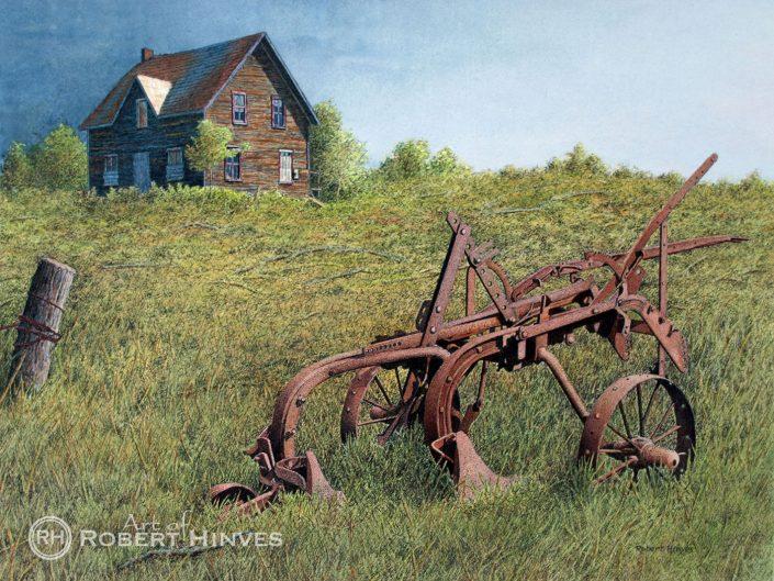 Robert Hinves - Abandoned Farmhouse