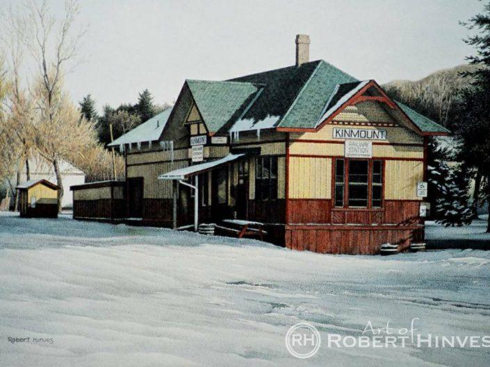 Robert Hinves - Kinmount Railway Station