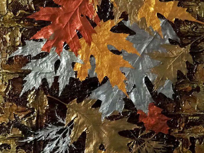 Robert Hinves - Metallic Leaves