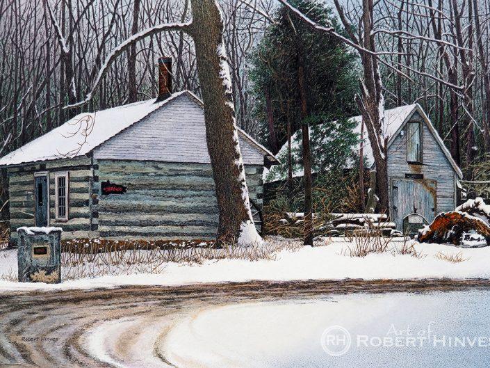 Robert Hinves - Ousterhout Cabin & Duncan Barn