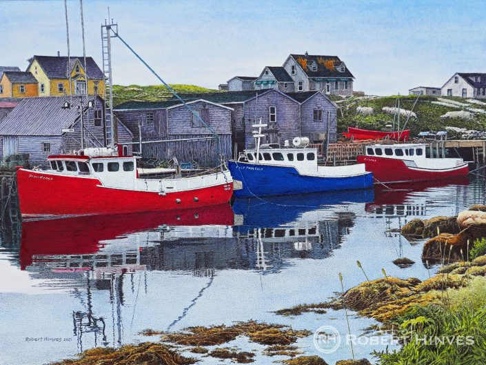 Robert Hinves - Peggy's Cove