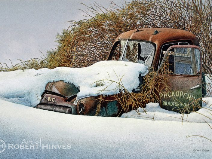 Robert Hinves - Relic in the Snow