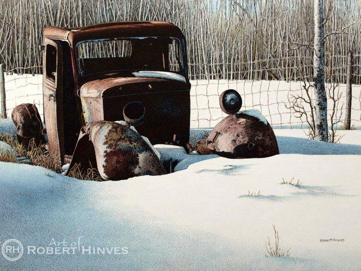 Robert Hinves - Rusted in Alberta