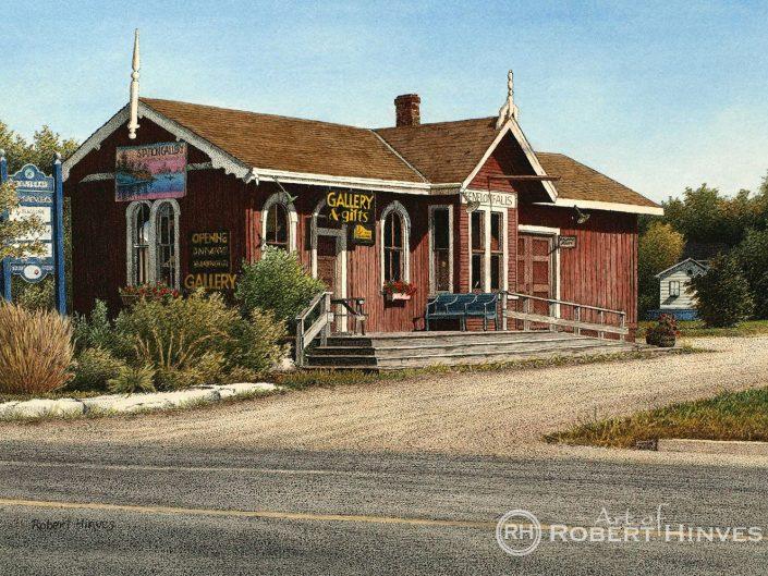 Robert Hinves - Station Gallery Fenelon Falls