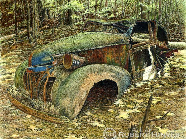 Robert Hinves - 1939 Pontiac