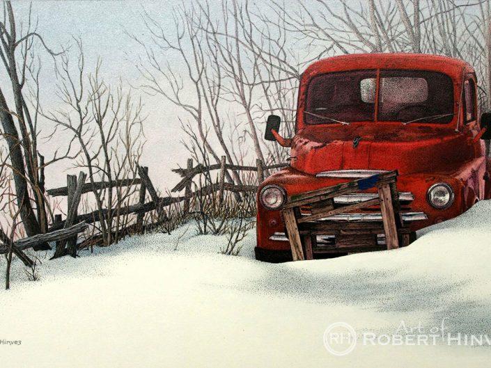 Robert Hinves - Abandoned in Alberta